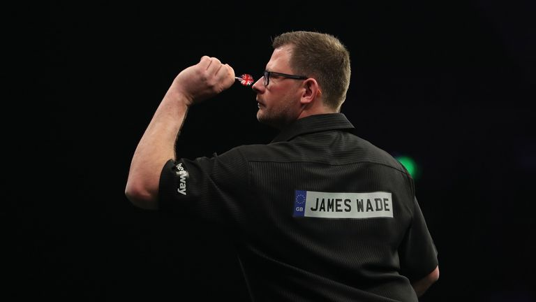 James Wade's impressive season continued but his search for a first title of 2018 goes on