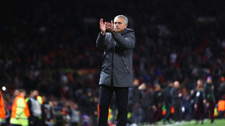 Jose Mourinho's Manchester United put one foot in the Europa League final