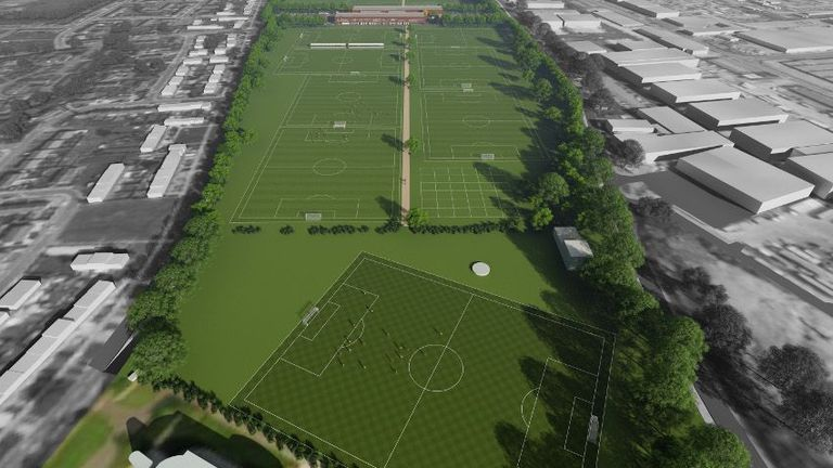 Liverpool Submit Plans For 163 50m Redevelopment Of Kirkby