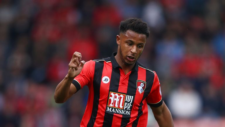 Bournemouth's Lys Mousset made his first Premier League start