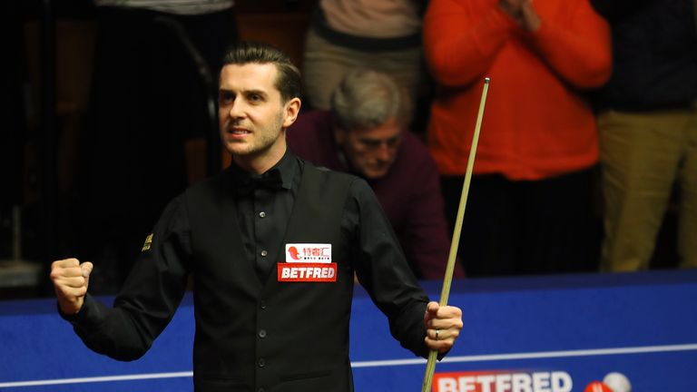 Mark Selby admits playing behind closed doors at the Crucible in Sheffield would take some getting used to
