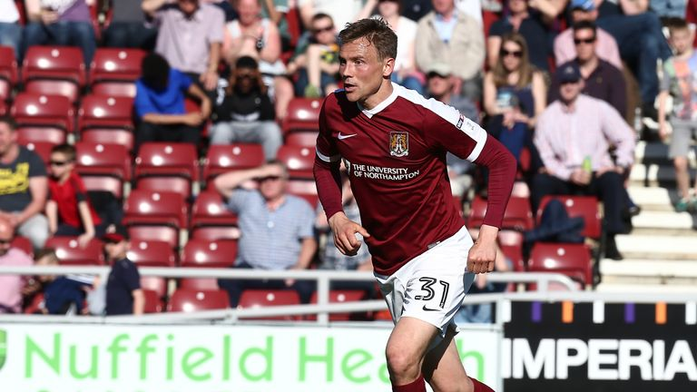 Matt Taylor has signed a new deal with Northampton Town