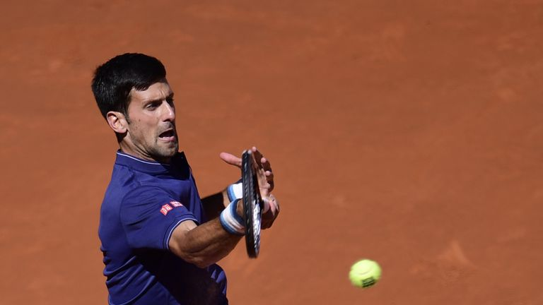 Djokovic heads to Rome next with with questions remaining on his coaching staff but showed glimpses of a return to form.