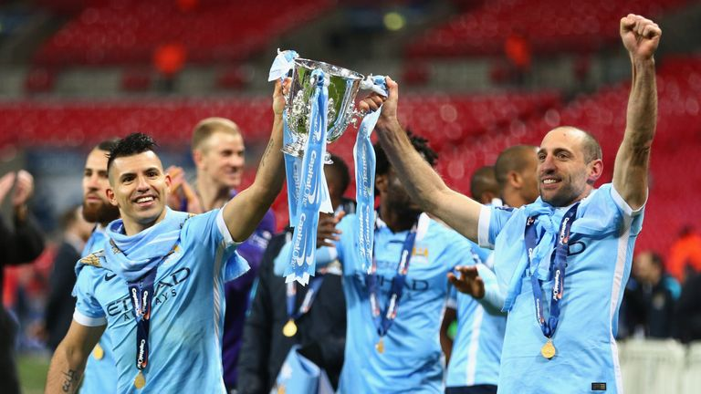 Zabaleta has also won two League Cups and the FA Cup at City