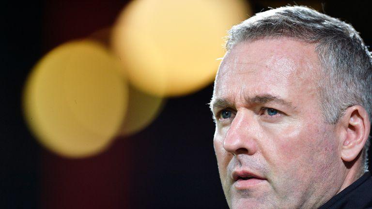 Stoke have appointed Paul Lambert as Mark Hughes' successor
