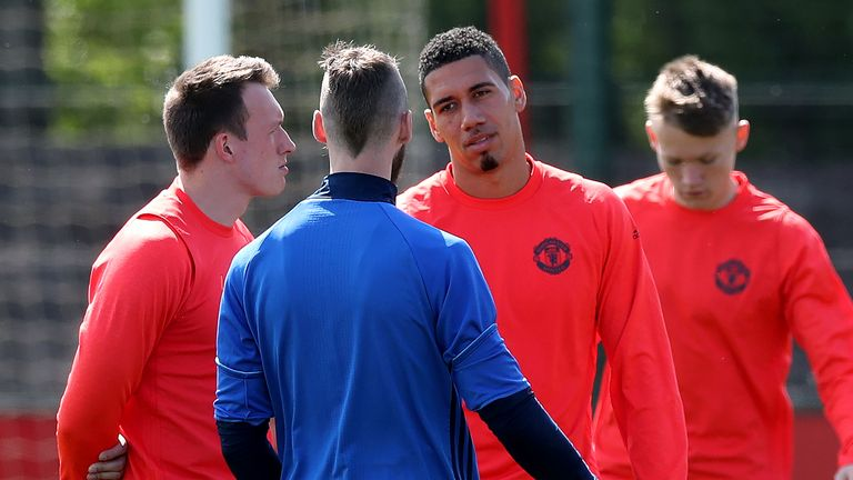 Phil Jones and Chris Smalling are also in contention to return against Celta