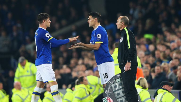 Barkley went off to a standing ovation after 80 minutes