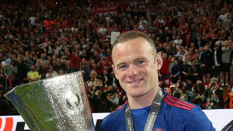 Wayne Rooney is set to leave having won the Europa League last season
