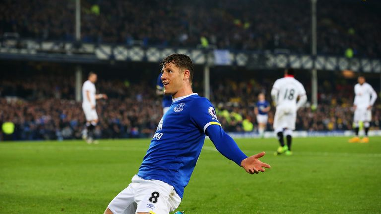 Barkley has yet to sign a new contract with the club, despite his current deal expiring in 2018