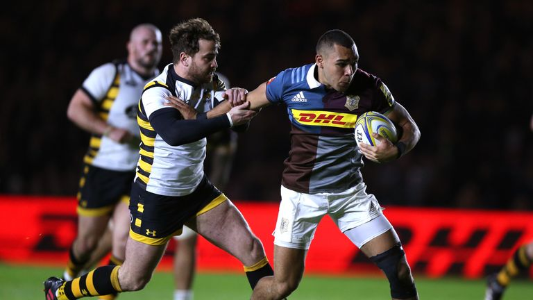 The Harlequins centre had always dreamed of playing in Super Rugby