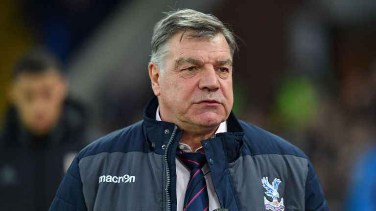 Sam Allardyce kept Crystal Palace up but has since departed