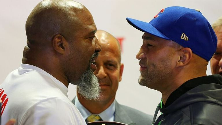 Shannon Briggs will battle Fres Oquendo for the WBA regular title on June 3