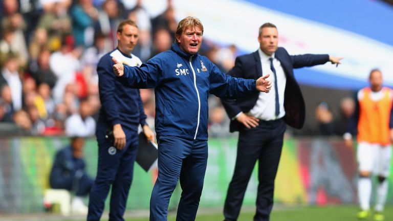 Stuart McCall last managed Bradford City, losing the 2016-17 League One play-off final to Millwall