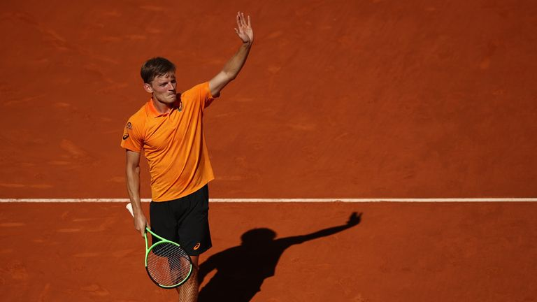 David Goffin caused a surprise to oust Milos Raonic
