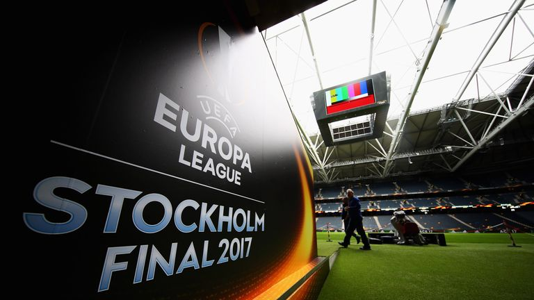 Manchester United will face Ajax at the Friends Arena in Stockholm on Wednesday night