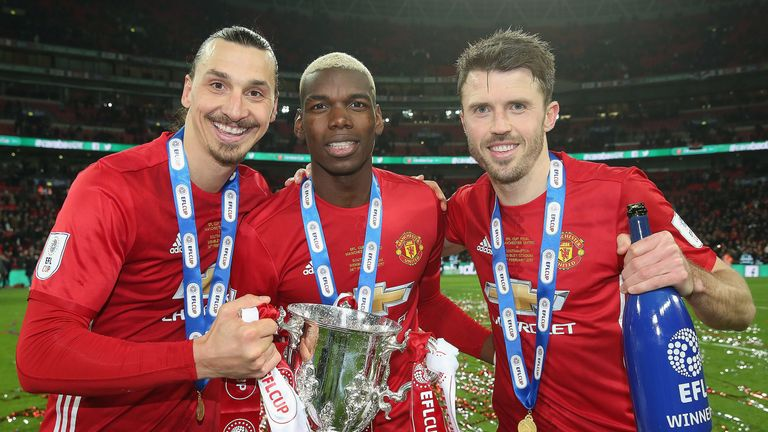 United team-mates Zlatan Ibrahimovic and Paul Pogba are two examples of recent high-profile free transfers