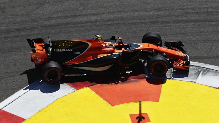 Cards Information Formula One 1 Mclaren Honda Alonso Vandoorne Mcl32