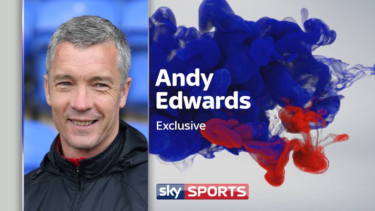 Former Leyton Orient boss Andy Edwards on World Cup joy with England