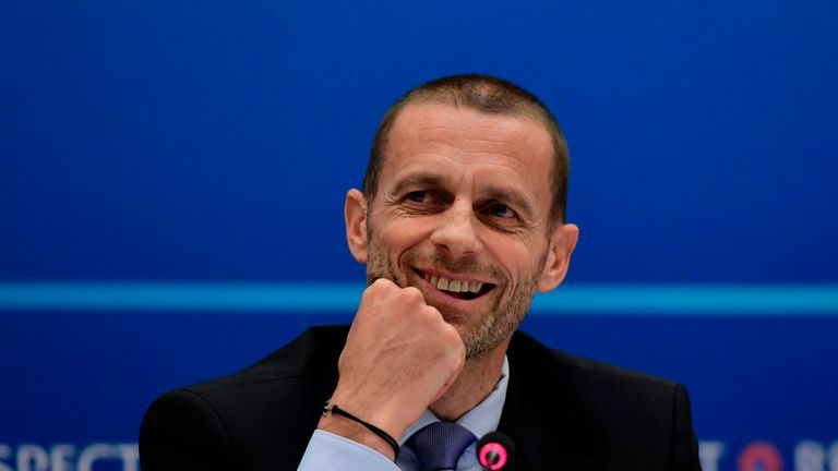 UEFA president Aleksander Ceferin is keen for the 2030 World Cup to be held in Europe
