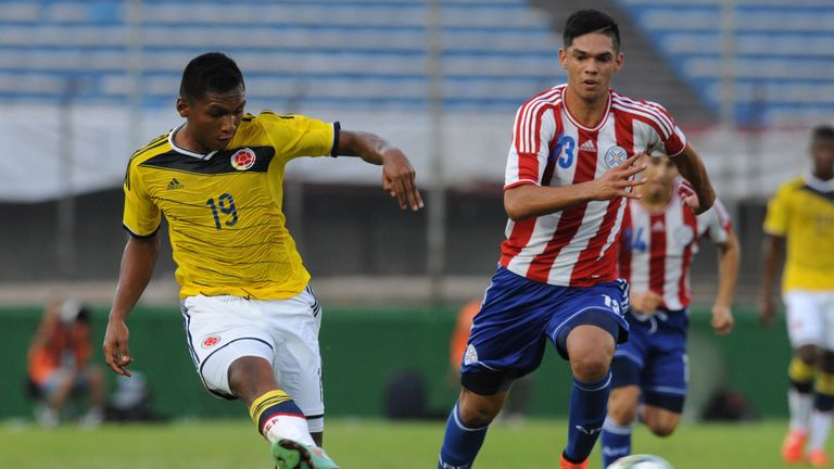 Morelos has represented Colombia up to U20 level