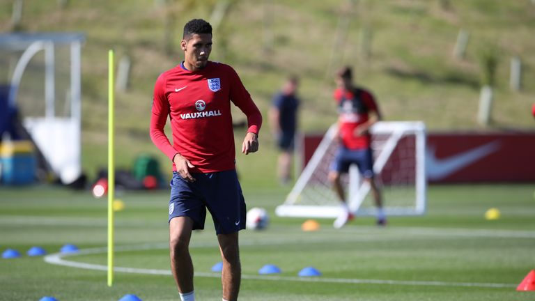 Chris Smalling was left out of the England squad