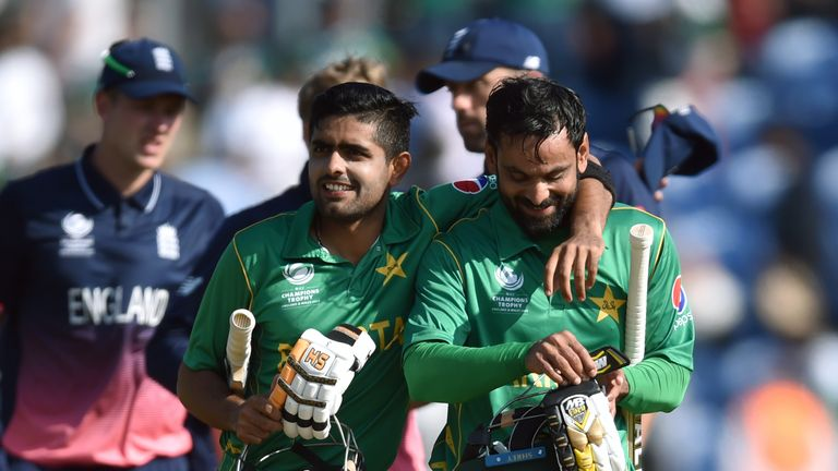 Pakistan beat England in the semi final of the 2017 Champions Trophy