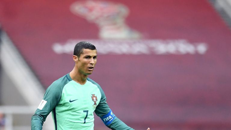 Cristiano Ronaldo has again impressed for Portugal but his club future remains unclear