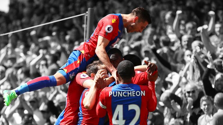 Crystal Palace surged to Premier League survival after a poor start to the season