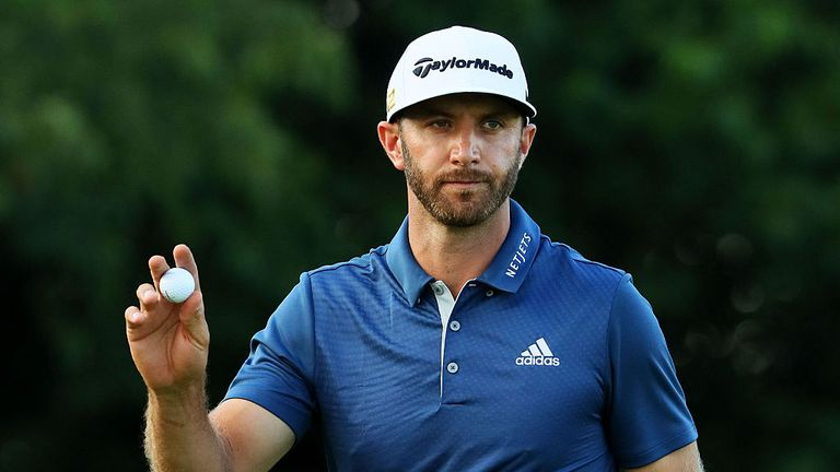 Dustin Johnson won the US Open last year during a controversial last round