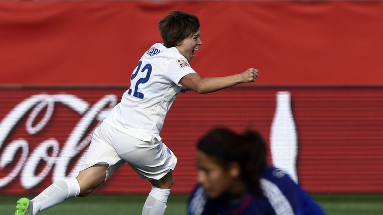 Fran Kirby's goal and performance against Mexico at the 2015 World Cup earned her the 'Mini Messi' tag
