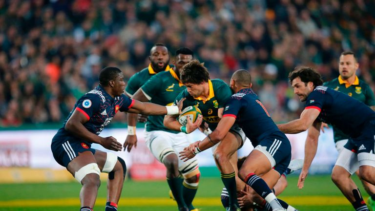 The victory was the first ever Boks victory over France at Ellis Park