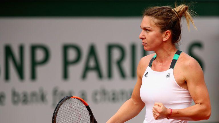 Simona Halep overcame Karolina Pliskova to reach her second final in Paris