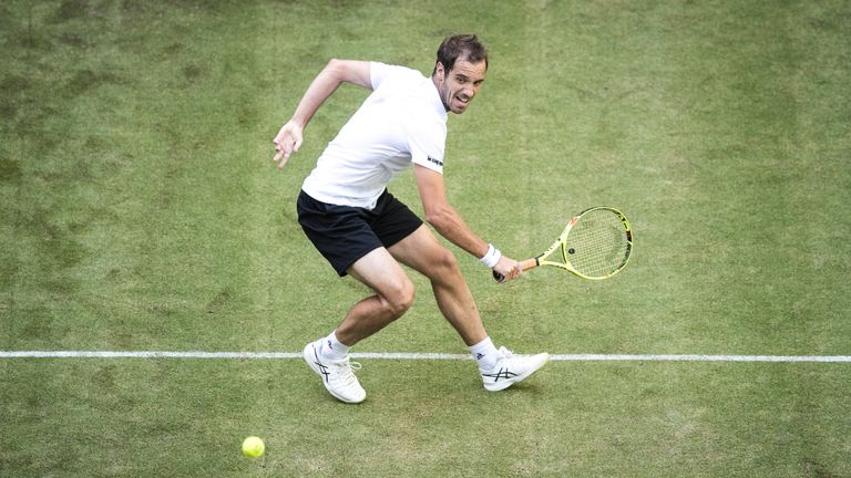 Gasquet secured a comfortable victory over Tomic