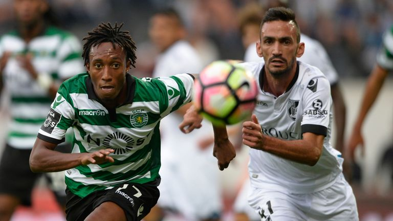 Gelson Martins scored six goals in 32 appearances for Sporting last summer