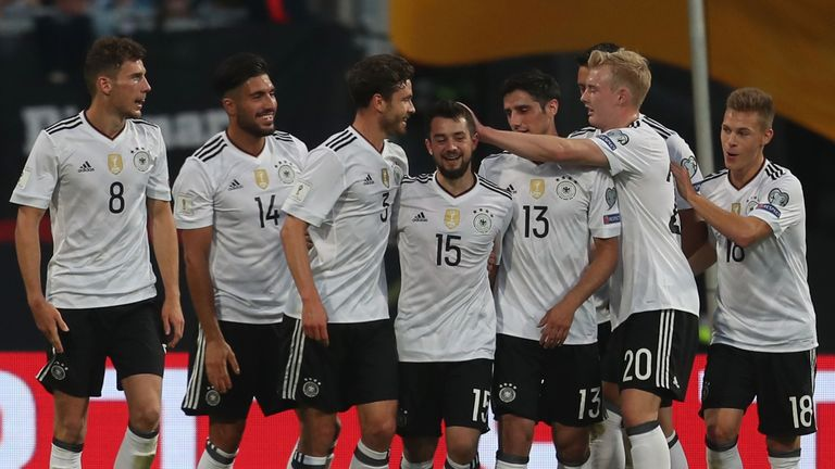Germany remain the favourites despite leaving stars at home