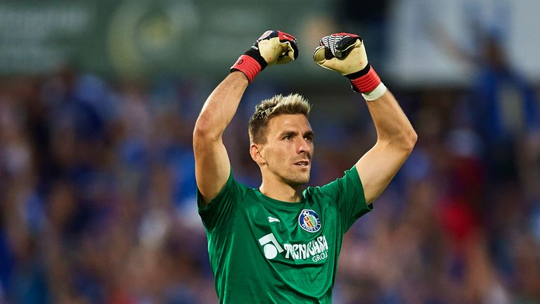 Vicente Guaita played a key role in goal for Getafe