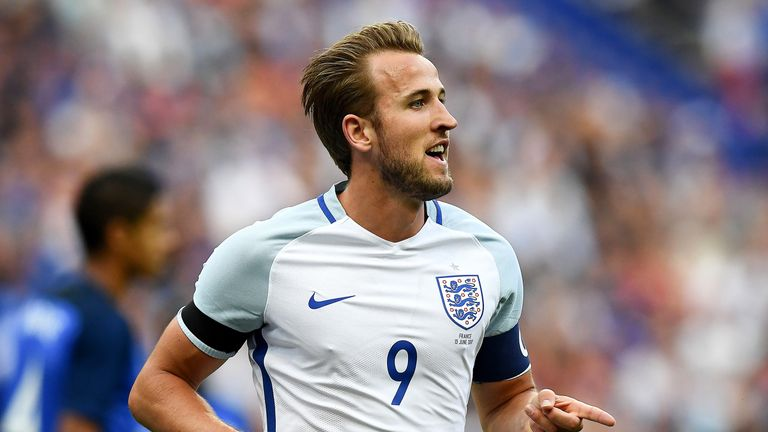 Harry Kane has scored five goals in his last three England games