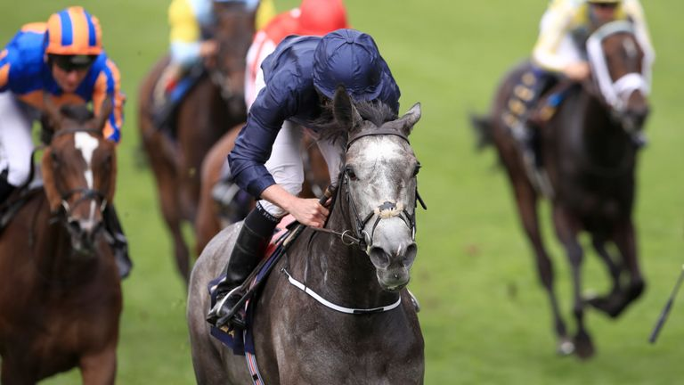 Winter is in complete command of the Coronation Stakes at Royal Ascot