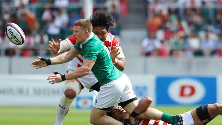 Ireland were 50-22 winners over Japan in the first Test