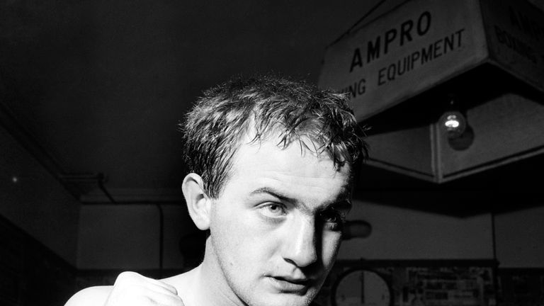 Johnny Caldwell suffered a local loss to Freddie Gilroy