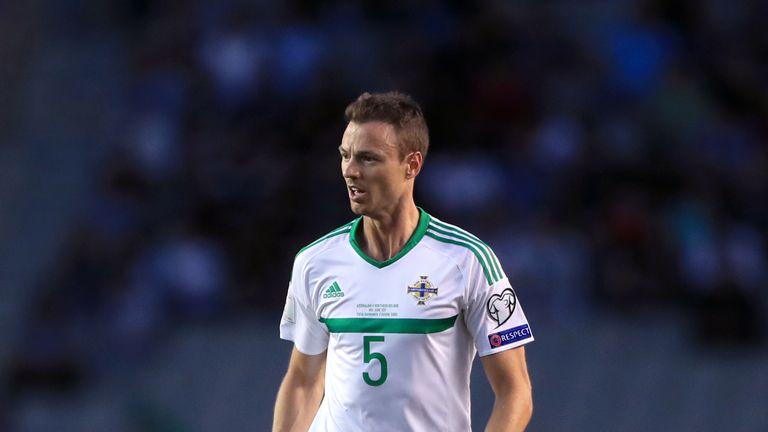 Northern Ireland's Jonny Evans provided the assist for Dallas' winner
