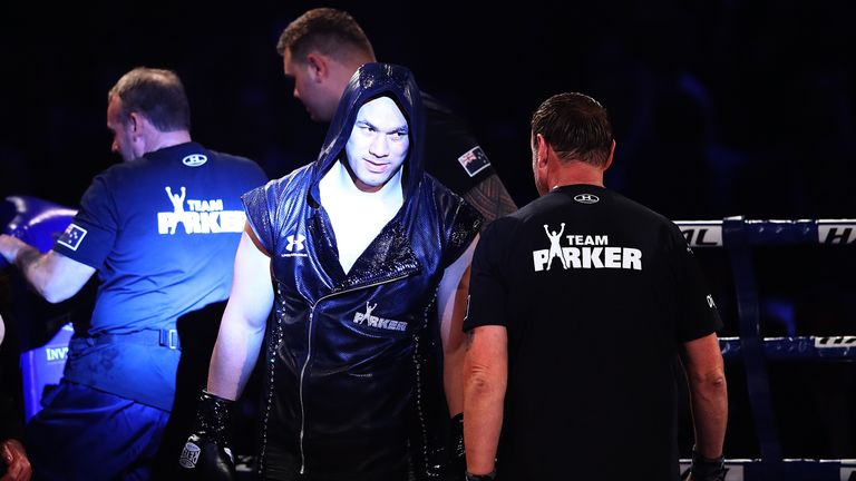 Joseph Parker defends WBO heavyweight title against Hughie Fury this weekend