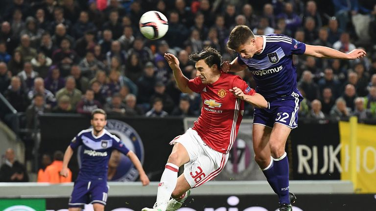 Leander Dendoncker scored against United last season