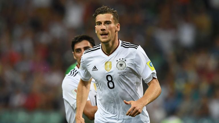 Goretzka will be hoping to part of Germany's 2018 World Cup this summer