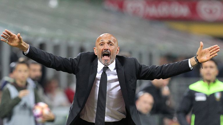 Luciano Spalletti describes the Champions League as the 'Disneyland of football'
