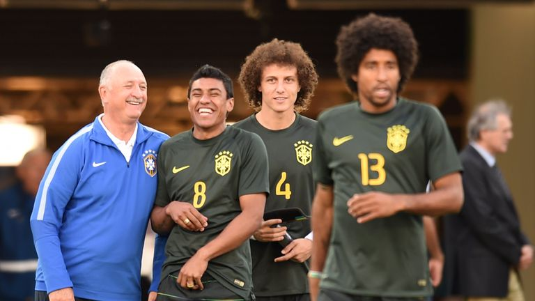 Luiz Felipe Scolari has shown faith in Paulinho at Guangzhou, having coached the midfielder for the national side back in 2014