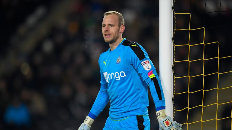 Matz Sels has left Newcastle after making 14 appearances in two seasons