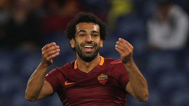 Salah will be up against former club Roma in the Champions League semi-finals