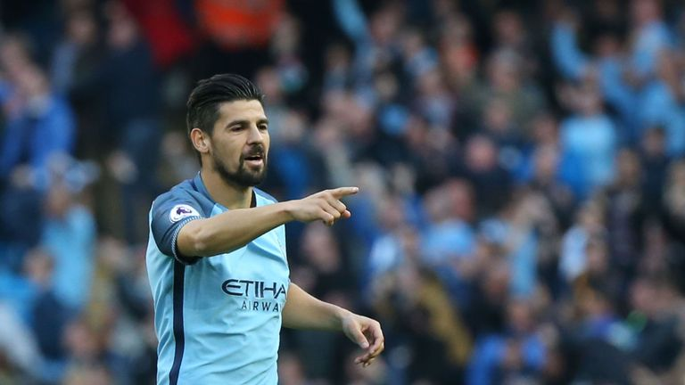 Nolito spent a season with Manchester City before joining Sevilla in 2017
