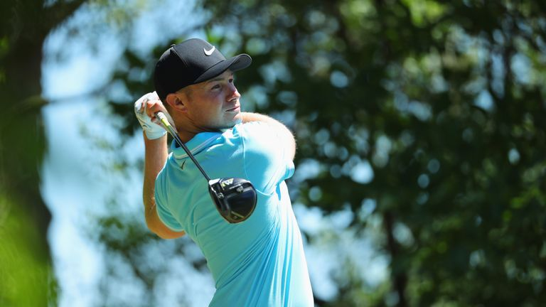 Fisher posted four birdies and a sole blemish